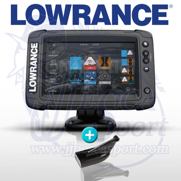 LOWRANCE ELITE-7 Ti2 Mid/High CHIRP + DownScan