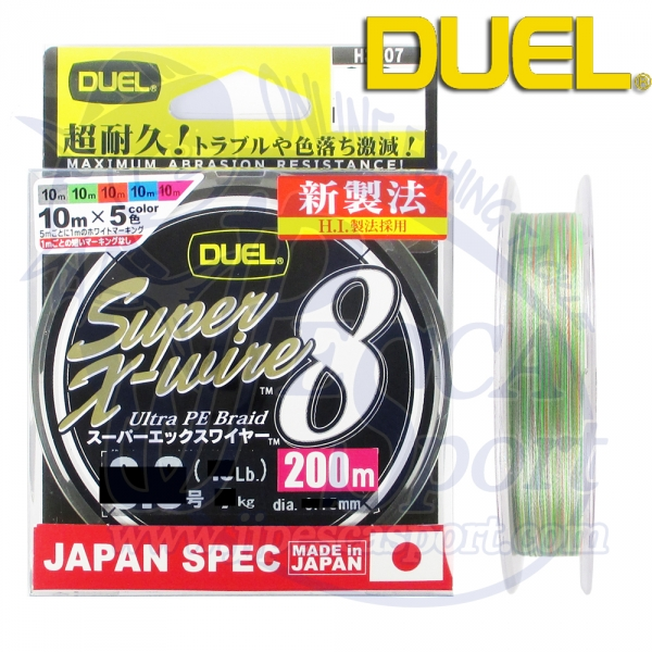 DUEL SUPER-X WIRE 8 (MULTICOLOR)
