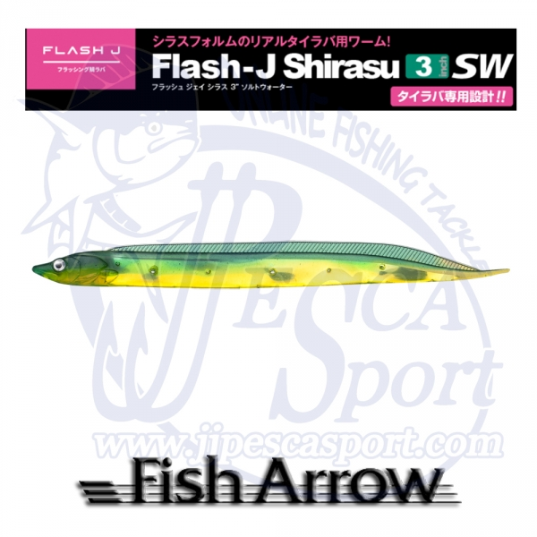 FISH ARROW FLASH J SHIRASU SW