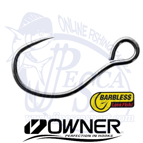 OWNER ANZUELO SIMPLE BARBLESS S-75BLM
